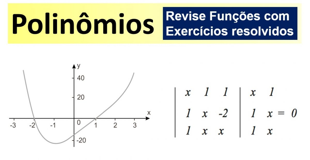 Polinomios Funcoes E Propriedades Matematica Enem