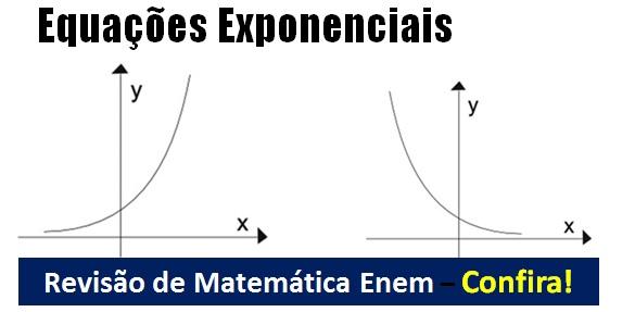 Equações Exponenciais – Aula de revisão Matemática Enem