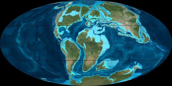 Deriva Continental - Geografia Enem e Vestibular