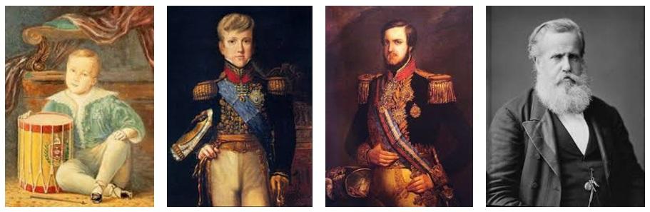 O Período Regencial vai dos 5 anos de idade aos 15 de Dom Pedro II