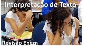 revisão sobre Interpretação de texto