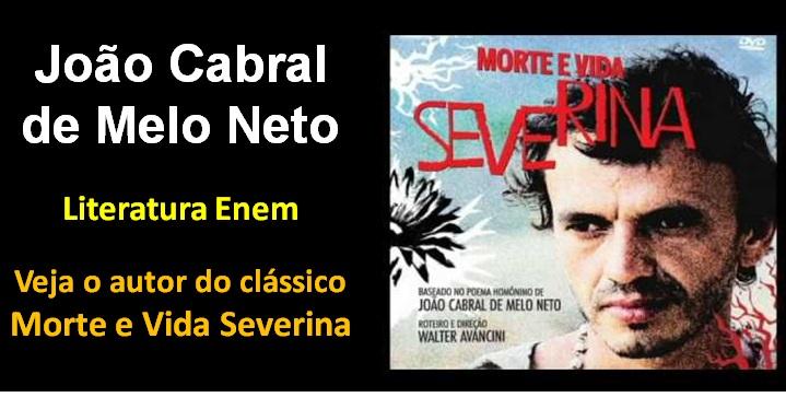 João Cabral De Melo Neto Aula De Revisão Literatura Enem