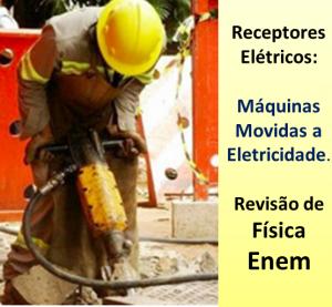 receptores elétricos - máquina cortadeira