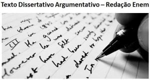 redação dissertativo argumentativo