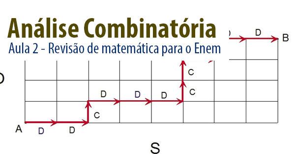 Revisão Para O I Simulado Enem: Aula De Revisão Para Matemática Enem