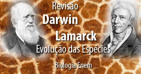 Charles Darwin e Jean-Baptiste Lamarck