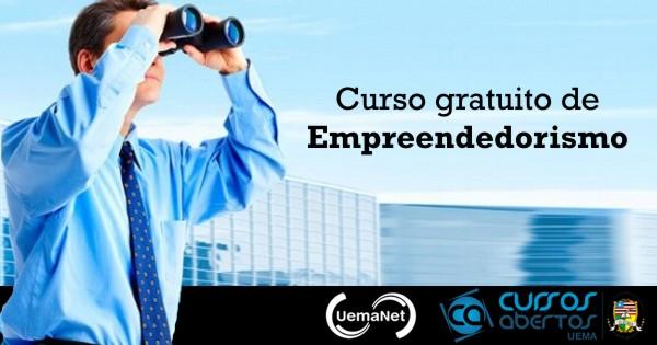 Curso gratuito de Empreendedorismo UEMA