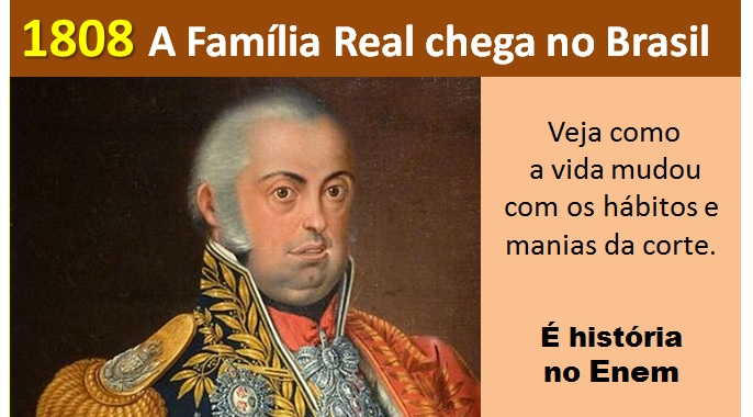 1808 a família real no Brasil
