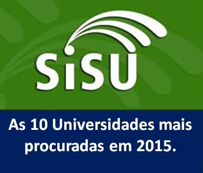 Sisu universidades mais procuradas