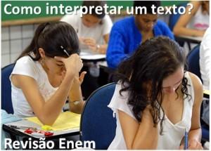 como interpretar um texto