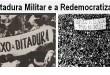 ditadura militar e redemocratização