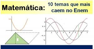 Veja o que mais cai de Matemática no Enem
