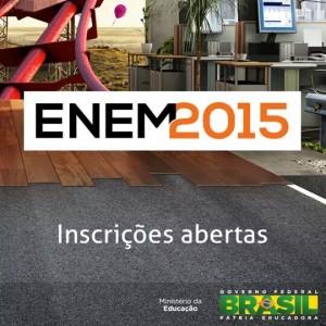 Inscrições Enem 2015