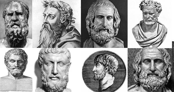 Os filósofos pré-socráticos