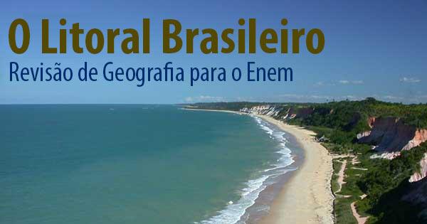 Características do litoral brasileiro