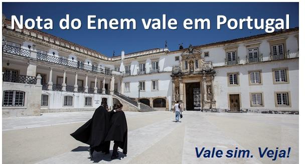 Nota do Enem vale para entrar em Universidade em Portugal 85901f23fe987