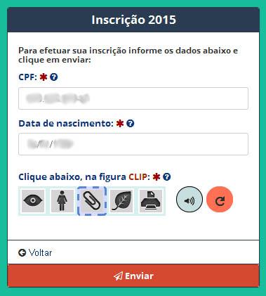 Inscrição Enem 2015 – Prova de paciência!