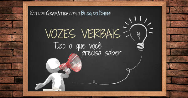 Gramática - Vozes Verbais