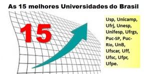 15 melhores universidades
