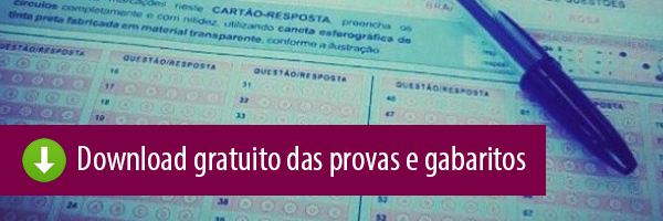 Download das Provas e Gabaritos Enem