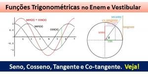funções trigonométricas destacada