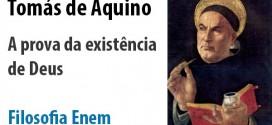 Filosofia: Tomás de Aquino e a prova da existência de Deus.  Cai no vestibular e no Enem,
