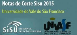 Confira as notas de corte do Sisu 2015 para a Universidade do Vale do São Francisco