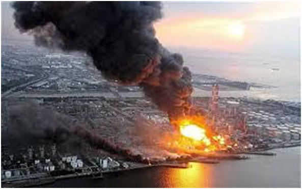 Explosão da Usina de Fukushima