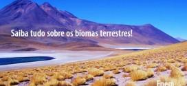 Saiba tudo sobre os biomas terrestres! (Parte 2) – Biologia Enem