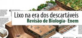 Lixo na era dos descartáveis – Biologia Enem