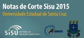 UESC – Notas de corte Sisu 2015 na Universidade Estadual de Santa Cruz