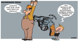 maioridade penal charge Casso