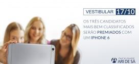 Bolsas de Estudo e iPhone 6 para os melhores colocados em vestibular no Ceará. Veja!