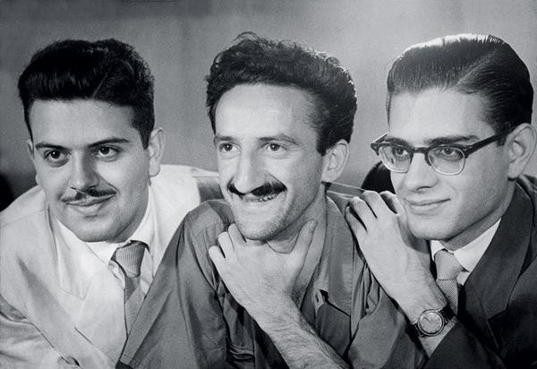 Décio Pignatari e os irmãos Campos