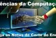 Ciências da Computação – Notas de Corte no Sisu 2015 para o curso de graduação.