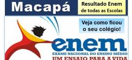 Macapá – Veja as melhores e piores escolas da cidade no Resultado Enem 2014