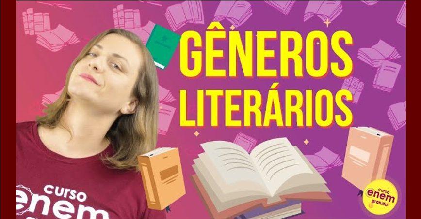 Os quatro gêneros Literários