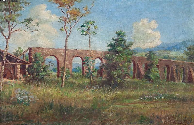 O Realismo no Brasil aparece na pintura de Benedito Calixto