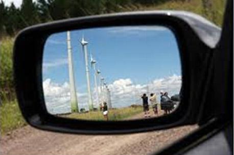 espelho do carro