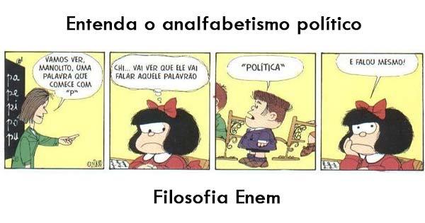 O Analfabetismo Político