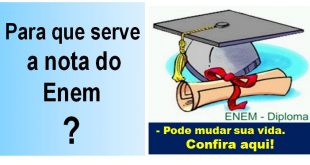 para q serve  nota do enem