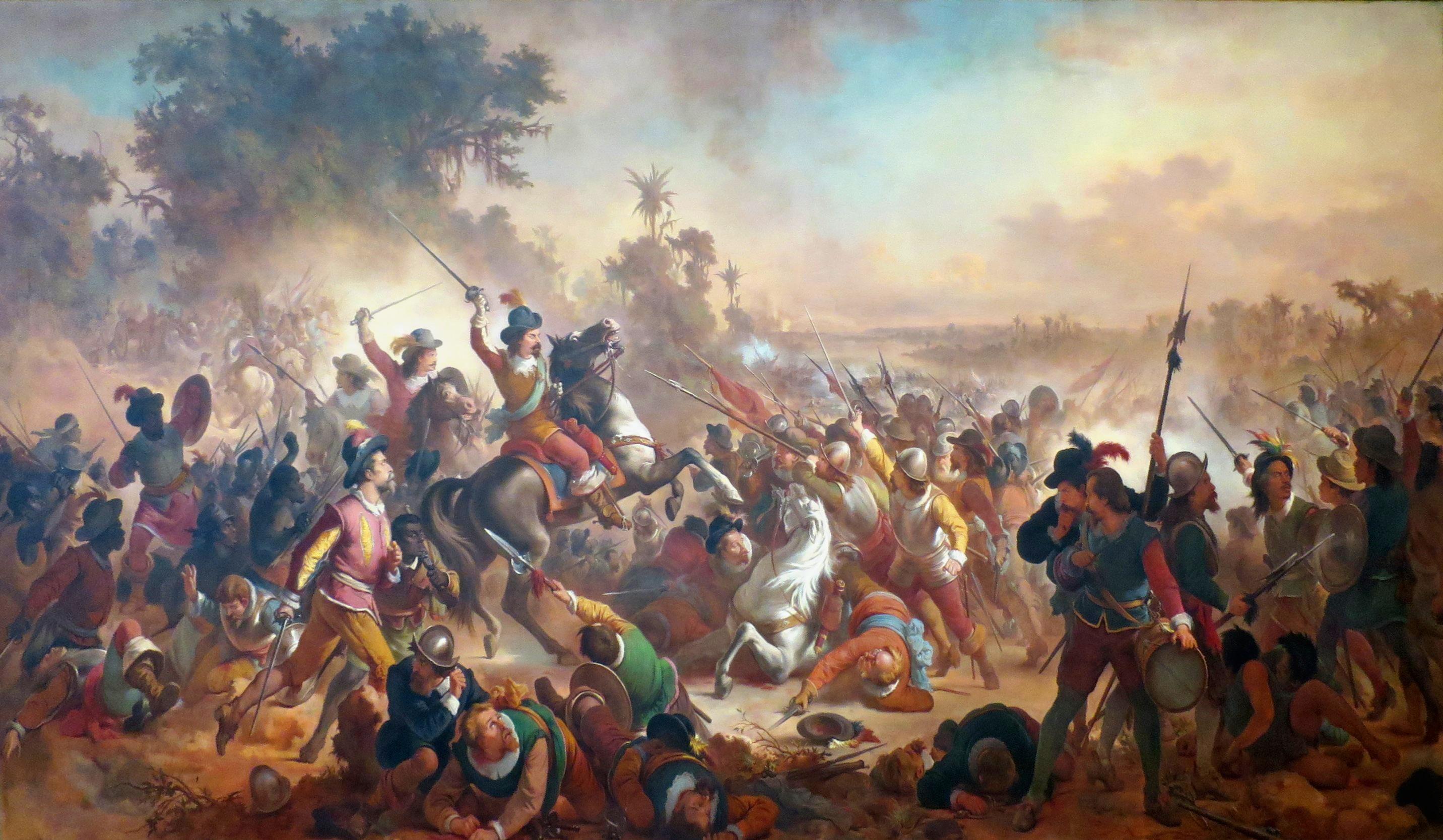 A Batalha de Guararapes - final das Invasões Holandesas