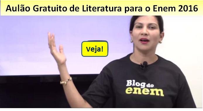 aulão Enem de literatura
