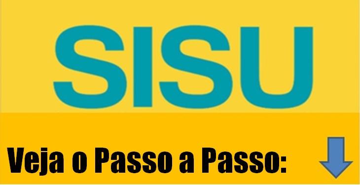 inscrição Passo a Passo do Sisu 2018