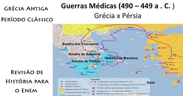 Revisão Para O I Simulado Enem: Grécia Antiga: Período Clássico