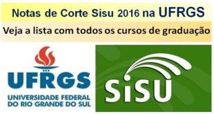 ufrgs Sisu 2016