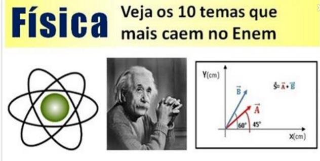 O que mais cai de Física no Enem