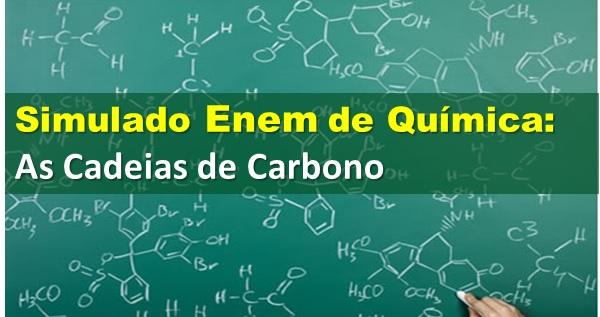 10 exercícios sobre cadeia de carbono