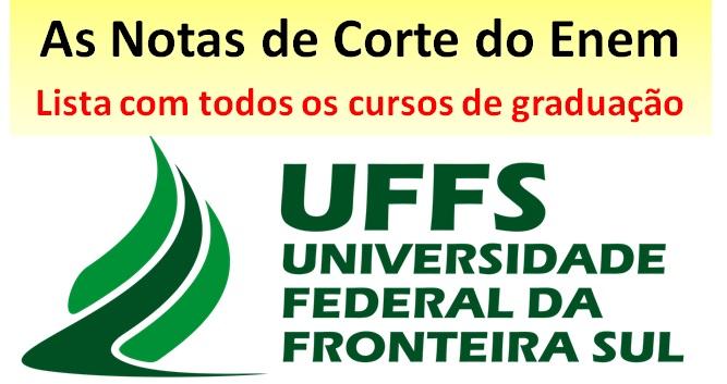 Nota de corte UFFS