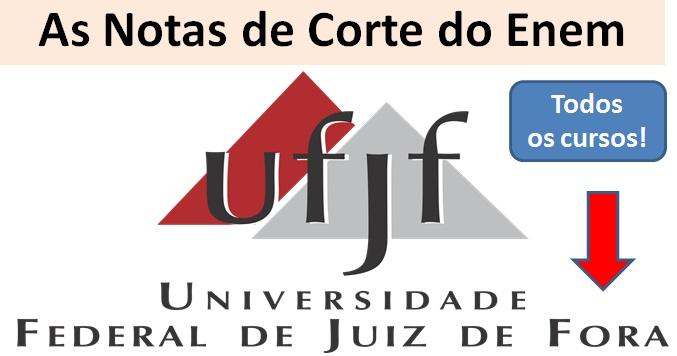 Nota de corte UFJF